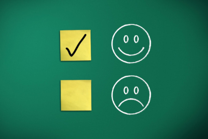 chalkboard emoticons: SEO Advantage Landing Page Optimization article
