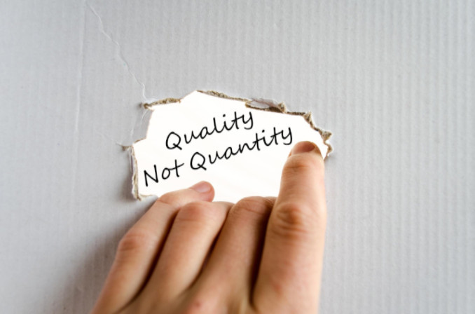 quality over quantity: SEO Advantage Landing Page Optimization article