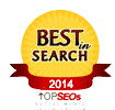 Awarded Best in Search by TopSeos.com
