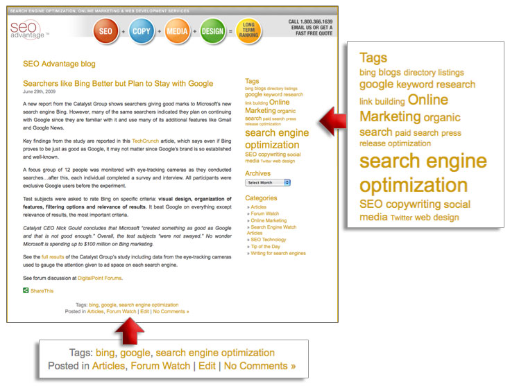 Categories and Tags – Optimizing Your Blog for Visitors and